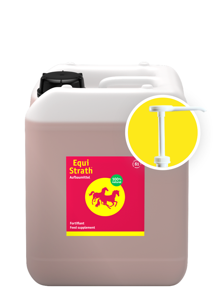 Equi-Strath Container 5l including dosing pump