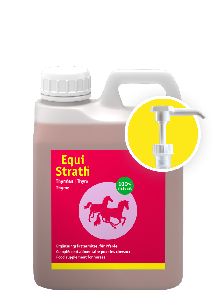 Equi-Strath Thymian Container 1l including dosing pump